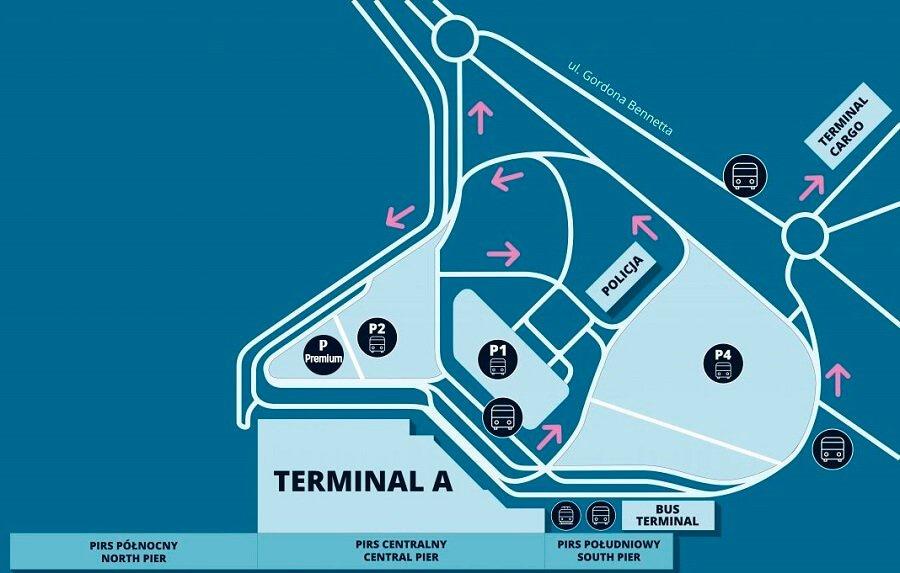 Lotnisko Chopina Terminal A