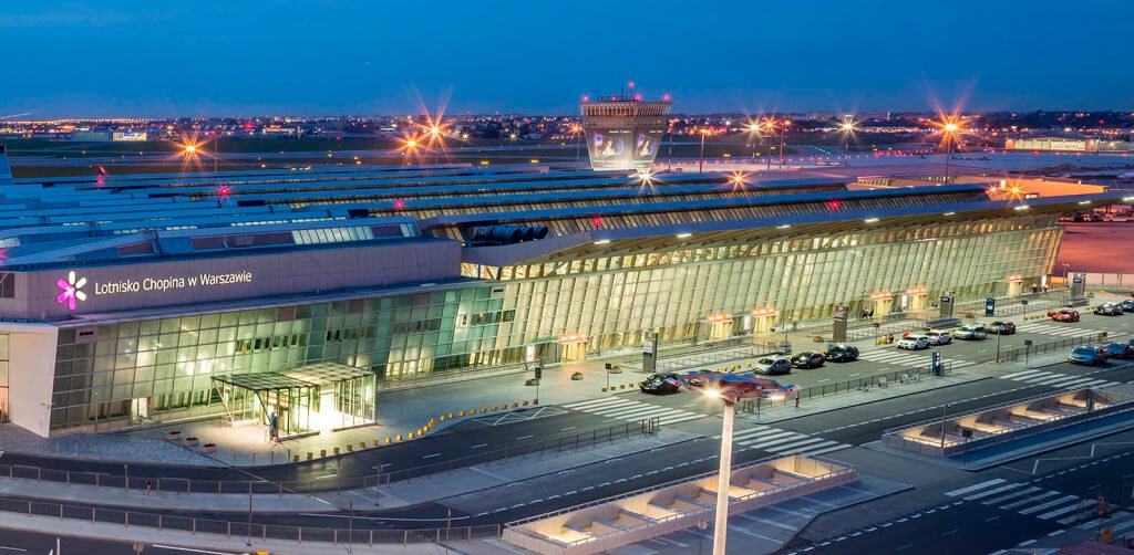 Warszawa Lotnisko Chopina