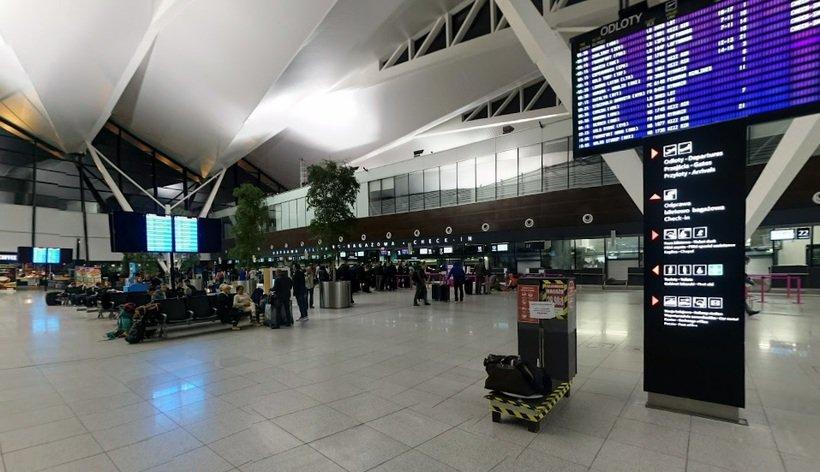 Odloty Gdańsk lotnisko - tablica online
